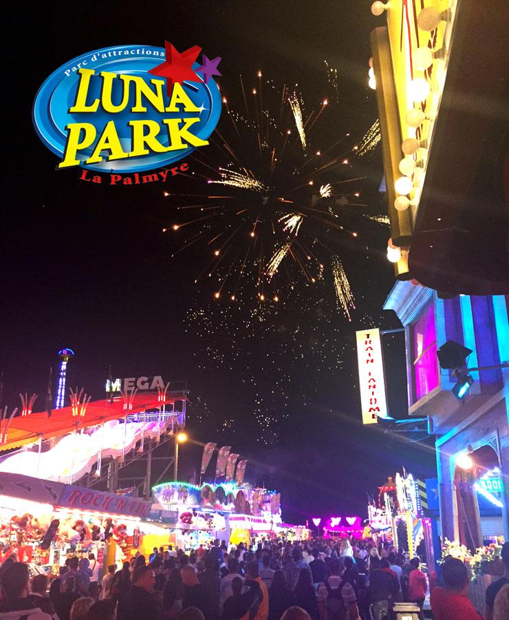 La palmyre luna park thriller for Puerta 9 luna park